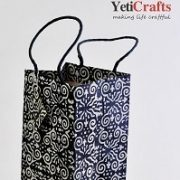 Nepal_Handmade_Lokta_Wine_Bag_YetiCrafts2