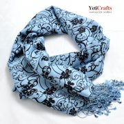Scarf-Silk-Grey-Pattern