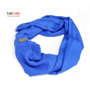 Stole-Super-fine-Wool-blue