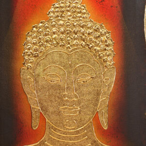 Thai-Handmade-Canvas-Painting-Buddha