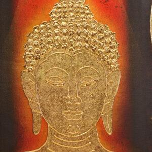 Thai-Handmade-Canvas-Painting-Buddha