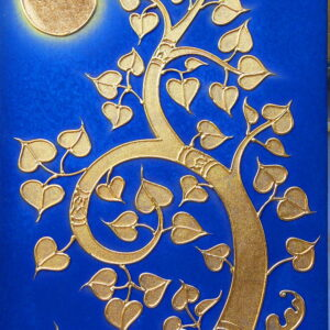 thai-canvas-painting-bodhi-tree1