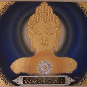 thai-canvas-painting-buddha