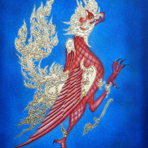 thai-canvas-painting-garud