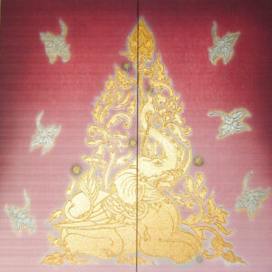 thai-canvas-painting-sitting-elephant1