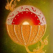 thai-canvas-painting-sun-flower