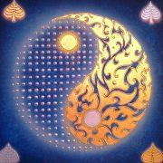thai-canvas-painting-yinyang-balance