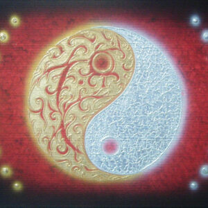 thai-canvas-painting-yinyang-black-background