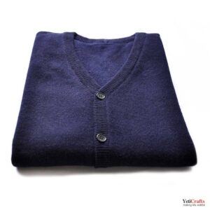 Chyangra_Cashmere_Ladies_Cardigan_Navy