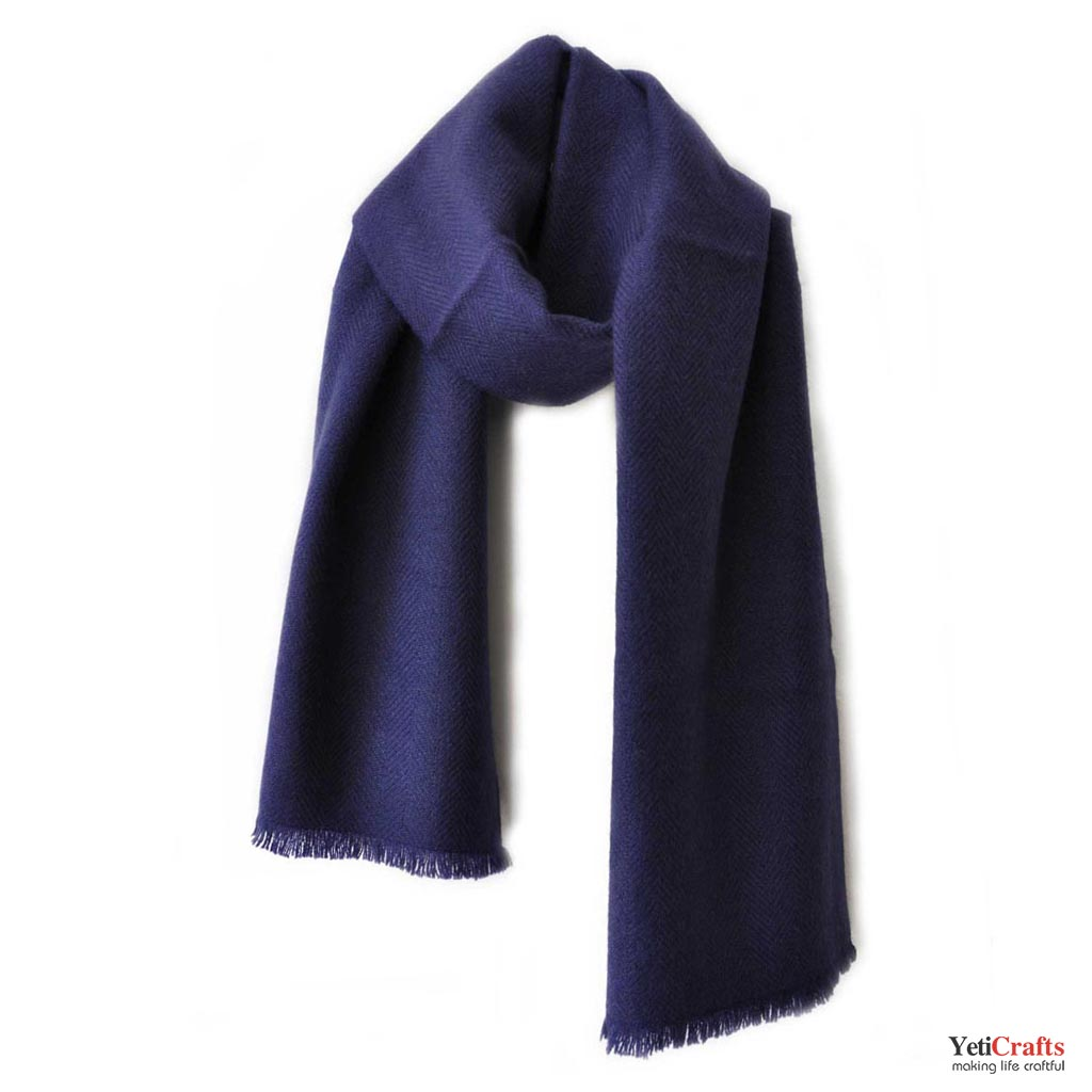 073534cdc Men Cashmere Scarf - Blue ...