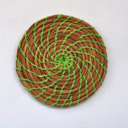 green-pine-needle-coaster-4inch