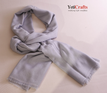Cashmere Shawl - Light Grey
