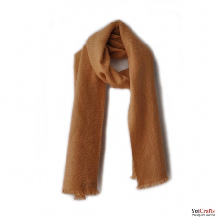 Men Cashmere Scarf - Brown