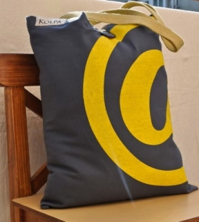 Nepal Cotton Canvas Handmade Bag - Tote @