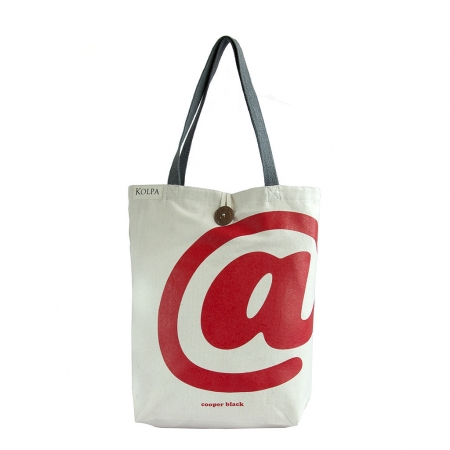 Nepal Handmade Cotton Bag - Tote @ White