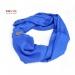 Stole - Super fine Wool- blue
