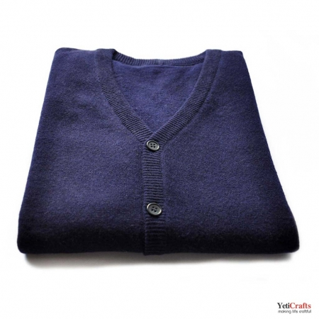 Chyangra Cashmere Gents Cardigan