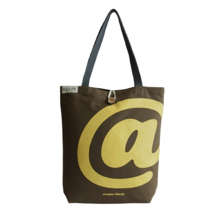 Nepal Handmade Cotton Bag Tote @ Brown